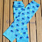 Blue Skeleton Leg/Arm Warmer