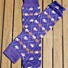 Purple Skeleton Leg/Arm Warmer