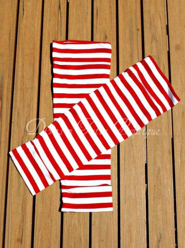 Red Stripes Leg/Arm Warmers