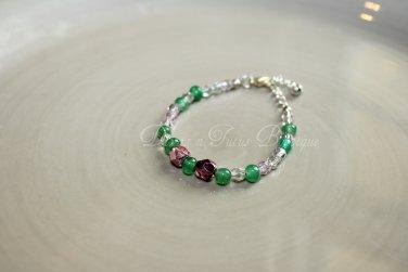 Green & Purple Bracelet