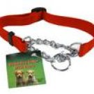 Nylon Dog collar w/chain