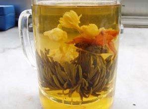 Five Golden Flower Tea                         ( Item No. 1002)