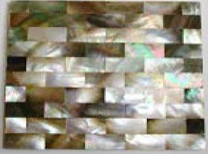 Black Lip Shell Tiles (100 units)