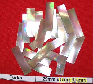 660 pcs of Blank/Flat Turbo shell (BTUR1031)