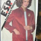 Simplicity ESP 9619 Pattern Jacket Size 12 14 16 Uncut