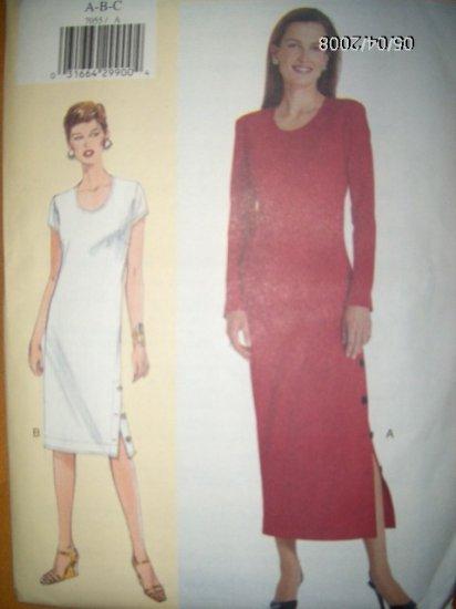 Today's Fit Sandra Betzina  Dress Vogue 7055 Pattern. Bust 32 to 36 Uncut