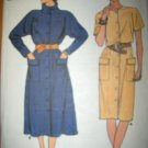 Butterick 6744 Fast and Easy Pattern Dress Size 12 14 16 Uncut