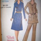 Vintage 1960s Vogue 8122 Pattern, Shirtdress or Tunic and Pants Size 12 Uncut