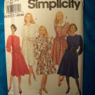 Simplicity Easy to Sew 8023 Pattern, Dress, Plus Sizes 20, 22, 24, 26  UNCUT
