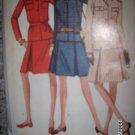 Vintage 1960s Simplicity 7258 Pattern Suit, Jacket and Skirt Size 12 Uncut