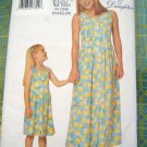 Butterick Mother and Me 5492 Pattern, Dress, Sizes Misses 8 to 14, Childrens and Girls 4 to14