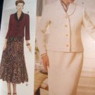 OOP 9292 The Vogue Woman Pattern, Jacket 2 Skirts Size 8, 10, 12 Uncut