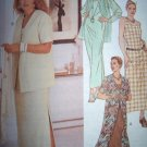 OOP McCalls 2124 Pattern, Womens Dress and Jacket in two Lengths Plus Size 18, 20, 22, Uncut