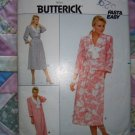 OOP 3756 Butterick Pattern, Misses Dress, Blouse, and Skirt, Plus Size 14, 16, 18, Uncut