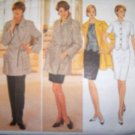 Butterick 4400 Ellen Tracy Pattern Jacket, Top, Skirt & Pants Size 12 14 16, bust 34 36 38, Uncut