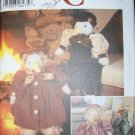 Simplicity 5762 Stuffed Goose and Clothes Pattern, UNCUT, OOP, FF