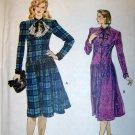 Vogue 8860 Sewing Pattern, Misses Dress, Size 12, Bust 34, UNCUT