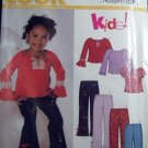 Simplicity New Look 6337 Sewing Pattern, Top & Pants,  Size 3-8 UNCUT