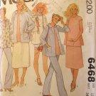 1970s McCalls 6468  Pattern, Maternity Wardrobe items, size 12, Bust 34, UNCUT