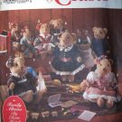 Simplicity 8155 Crafts Holiday, Bear & Clothes in 3 Sizes, UNCUT