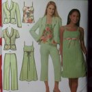 Easy Chic Simplicity 4238 Pattern, Misses Dress, Top, Jacket, Pant, Sz 8 to 16, UNCUT