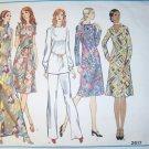Vintage 1970s Vogue Pattern 2617, Misses Petite Dress Tunic  Pants,  Size 12, Bust 34