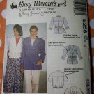 McCalls 5258 Busy Woman's Pattern, Misses Jackets, Size 10,  UNCUT