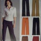 New Look 6510 Sewing Pattern,Misses Pants Capris Skirt Belt, Size 10 12 14 16 18 20 22, UNCUT,
