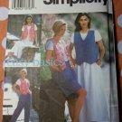 OOP Simplicity  8300 Pattern, Misses Skirt Pants Vest, Sz 10 12 14 16, UNCUT
