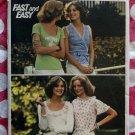 Vintage Butterick 4136 Pattern,  Misses Tops 4 Variations, Sz 12 Bust 34, UNCUT