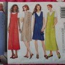 OOP Very Easy Butterick 5926 Pattern, Misses Petite Jumper Dress, Sz 14 16 18, UNCUT