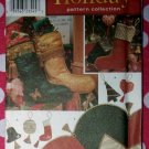 OOP Simplicity 8995 Christmas Ornaments Stockings Treeskirt Pattern, Uncut