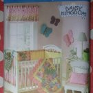 OOP Simplicity 3798 Pattern, Daisy Kingdom Nursery Accessories, UNCUT
