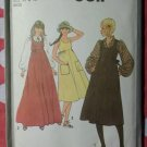Vintage Simplicity 8611 Pattern, Misses Blouse Sundress or Jumper, sz 14-16, Uncut