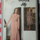 Vintage 1977 Jiffy Simplicity 8662 Pattern Dress or Gown, Sz 16, Bust 38, Uncut