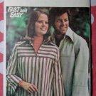 Vintage Butterick 4625 Pattern, Misses Top, Sz 12 14, UNCUT