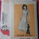 Vintage 70s Mail Order Workbasket 9240 Pattern, Mod Dress, Sz 14, Bust 36, Uncut