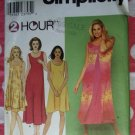 OOP Simplicity 9119  2 Hour Pattern, Misses' Dress Pattern, Plus Size XS, to  XL, UNCUT