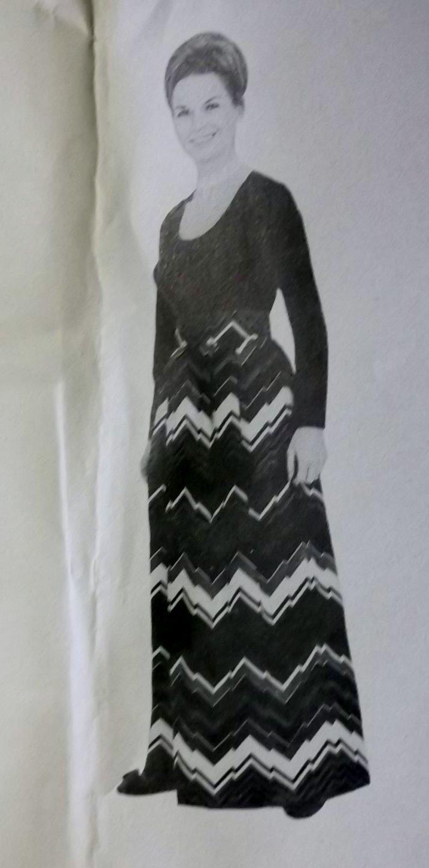 Vintage 70s Lillie London 7352 Pattern, Misses Blouse and Skirt, Sz 14, Uncut