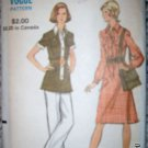 Vintage 1960s Vogue 8300 Pattern, Dress, Tunic and Pants,  Size 12 Bust 34 Uncut