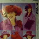 OOP Red Hat McCalls MP262 or 3987 Sewing Pattern Bags and Hats, Uncut