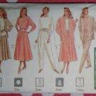 OOP Easy Butterick 4311 Pattern, Misses Jacket, Top, Skirt & PantsSz XS S M, Uncut