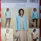 Burtterick B4817 Pattern, Women's or Petite Jacket, Vest, Top, Skirt & Pants, Sz 26W to 32W, Uncut