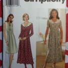 OOP Simplicity 7579 Sewing Pattern,  Misses' Dress, Sz 14, 16, 18, Uncut