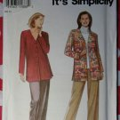 OOP Easy Simplicity 9165 Misses Top & Pants Pattern, Sz 10 to 20, Uncut