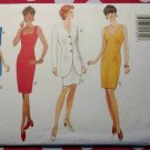OOP Easy Butterick 3941 CLASSIC Misses' or Petite Jacket & Dress Pattern, Sz 12 14 16, Uncut