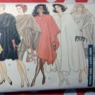 Vintage Easy Classic  Misses Cape and Stole McCalls 6854 Sewing Pattern, Size Large to XL,  Uncut