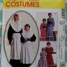 McCalls 2337 Colonial Prairie Pilgrim Pioneer Quaker Costume Pattern, Sz 16 18, Uncut