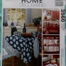 OOP McCalls 3560 Kitchen Decor Pattern, Tablecloth Curtains Organizer Apron, Uncut