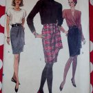 OOP Very Easy Vogue 7950 Misses Skirt Pattern, Sz 8 10 12, Uncut